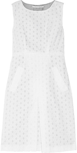 Diane von Furstenberg Carpreena broderie anglaise cotton dress