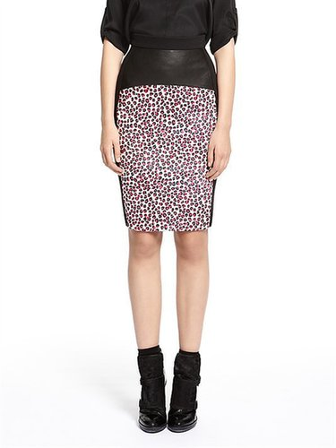 Runway Irina Print Pencil Skirt