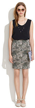 Downtown skirt in batik