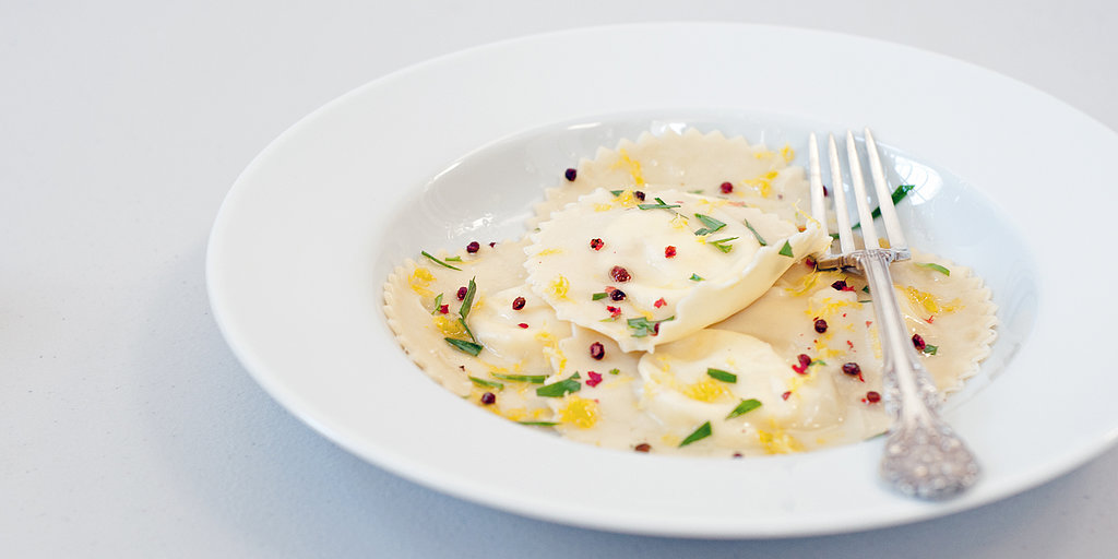 Impress Dinner Party Guests With Lemon Goat Cheese Ravioli