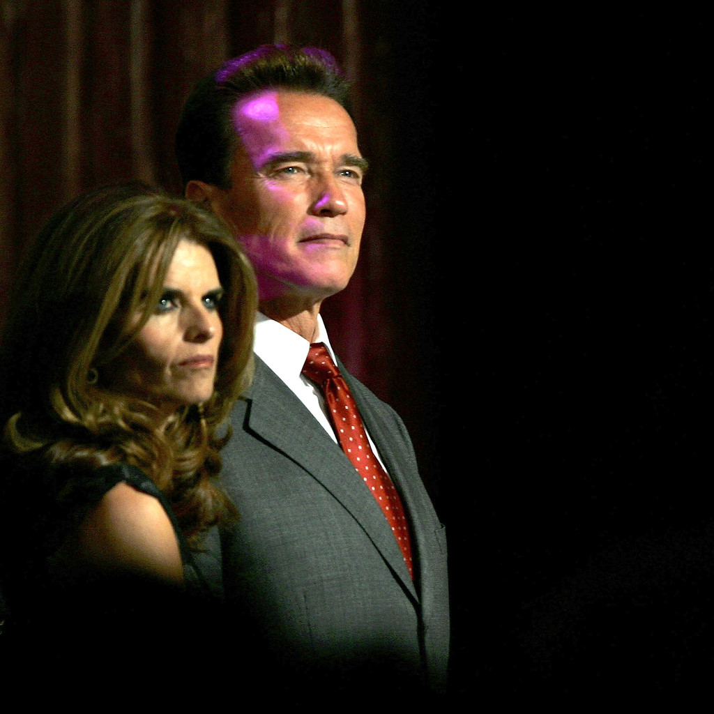 "Maria Shriver ""This is a painful and heartbreaking time. As a mother, my concern is for the children. I ask for compassion, respect, and privacy as my children and I try to rebuild our lives and heal. I will have no further comment."" Maria Shriver released a brief statement after news broke that Arnold Schwarzenegger fathered a love child with their housekeeper. She's reportedly moving forward with the divorce."