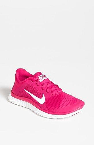 Nike 'Free 4.0 v3' Running Shoe (Women) Pink 8 M