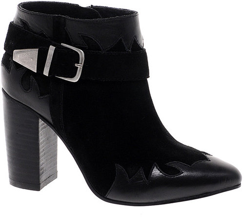 ASOS ANIMATE Leather Ankle Boots