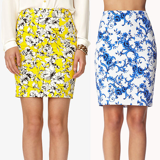 Printed Pencil Skirts Under $70