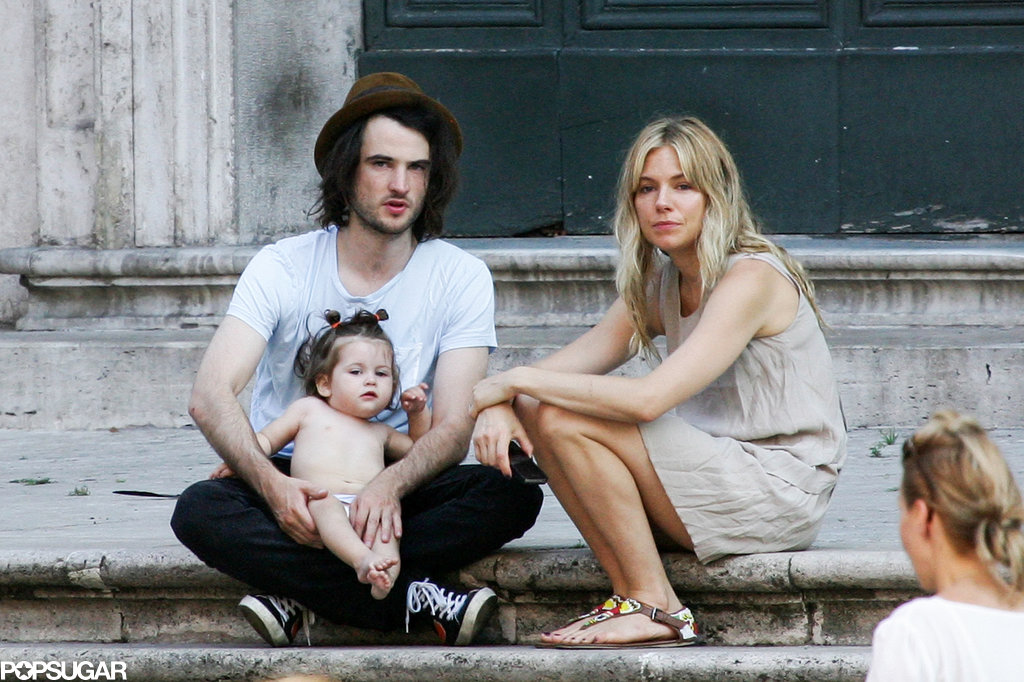 Sienna Miller and Tom Sturridge vacationed in Italy with their baby daughter, Marlowe.