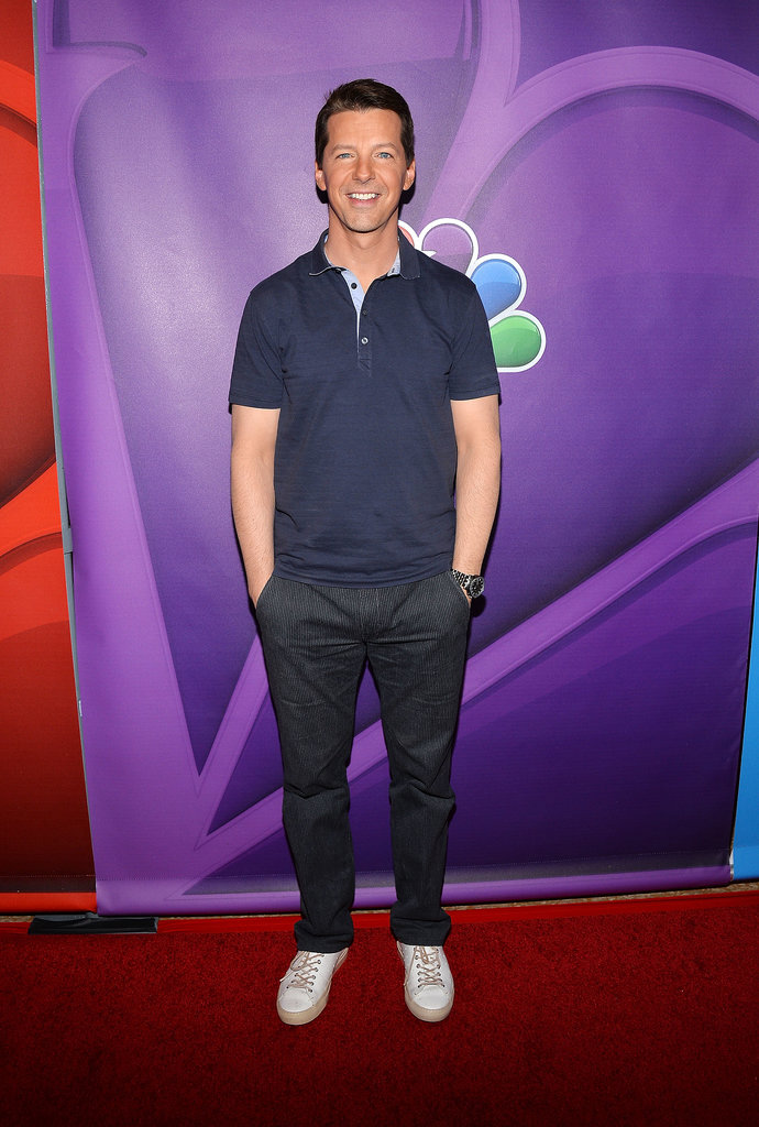Sean Hayes attended the Summer TCA Press Tour.