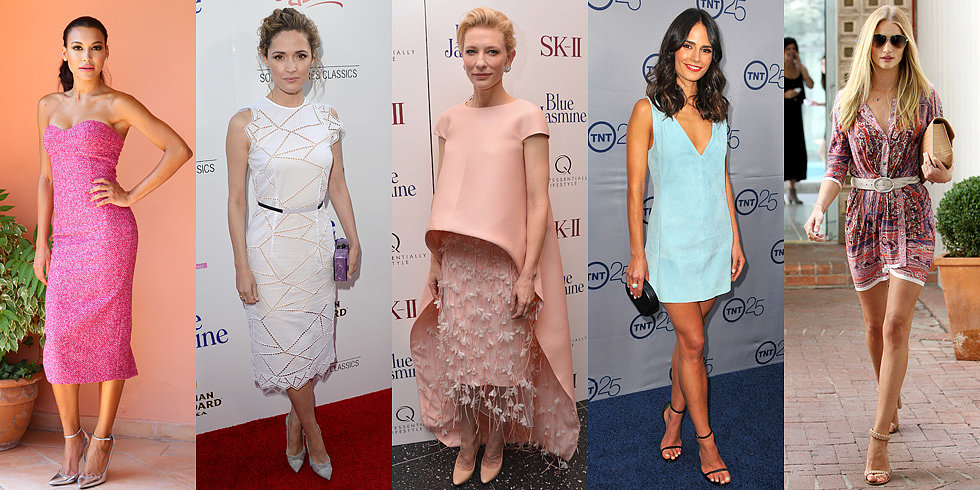 Top 10 Best Dressed Of The Week: Prints, Pretty Pinks And Lots of Balenciaga