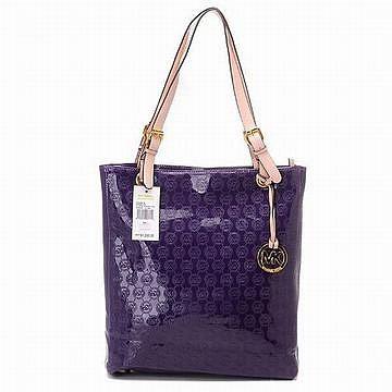 Michael Kors Jet Set Item Tote Purple Ladies Handbags