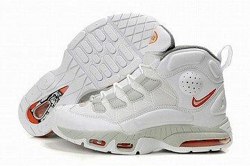 ken griffey jr air max iii nike men shoes white orange