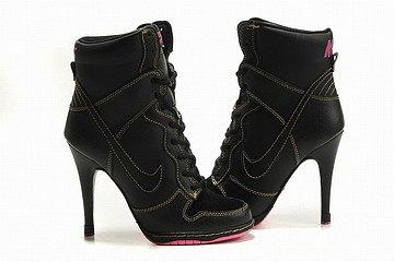 Nike Dunk SB High Heels Black/Pink