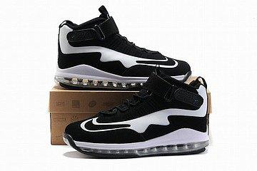 king nike air max griffey 3.5 black white men shoes