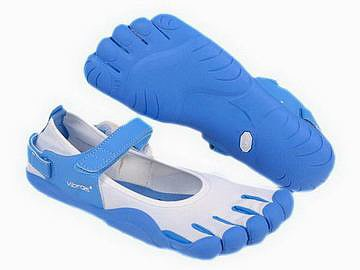 men s white and blue sprint five fingers online