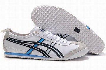 white black blue discount asics mexico 66 men shoes