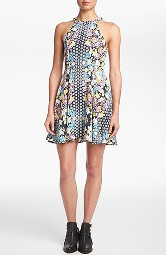 MINKPINK Floral Print Sleeveless Dress