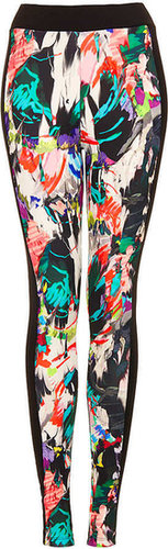 Tall Marble Scuba Leggings