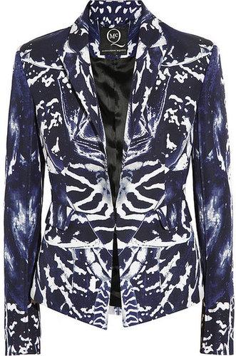 McQ Alexander McQueen Kaleidoscope printed cotton-blend twill jacket