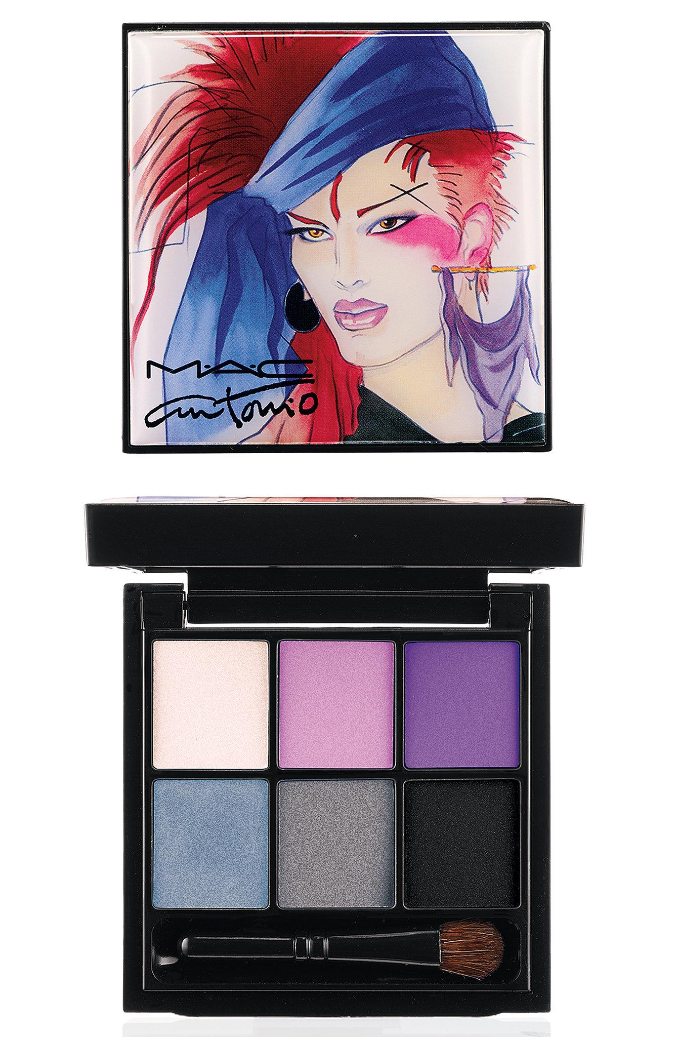 Eyes x 6 Palette in Violet ($44)