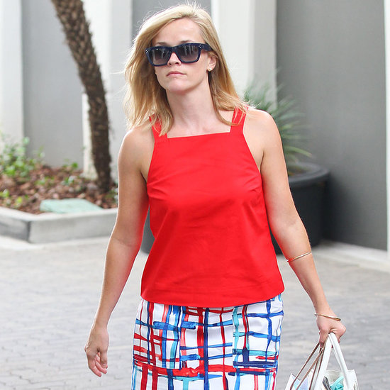 Reese Witherspoon Wearing Kate Spade Saturday Outfit