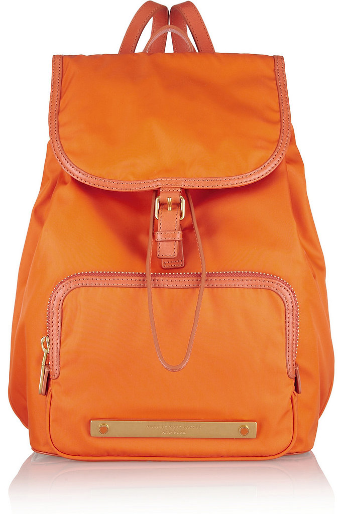 Maybe it's all the talk of Clueless (the movie turned 18 this Summer!) and '90s fashion, or perhaps its just the back-to-school sentiment I get halfway through August, but I'm seriously coveting Marc by Marc Jacobs's bright orange backpack ($330). — Randy Miller, associate editor