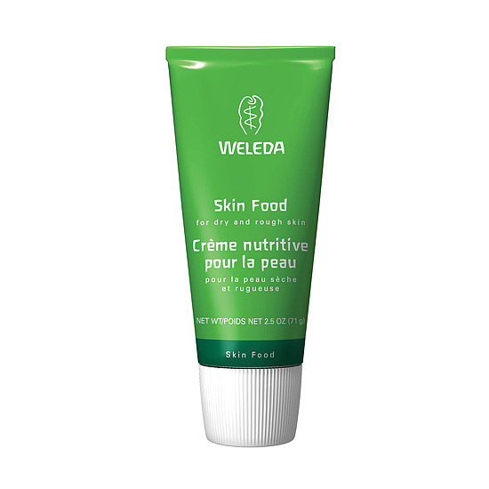 On the other end of the spectrum, Weleda Skin Food ($19) is a creamy formula made of biodynamic ingredients including pansy, rosemary, and calendula extracts. This intensive treatment works on dry skin from head to toe, and its plant ingredients are known for their antiseptic and anti-inflammatory benefits.