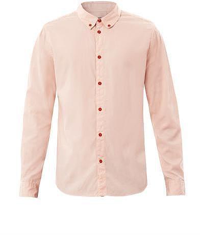 Marc by Marc Jacobs Contrast button cotton shirt