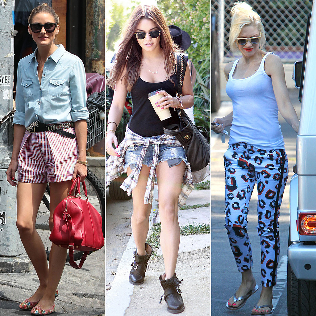 Celebrity Casual Style Summer 2013 Popsugar Fashion