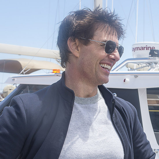Tom Cruise Sails With Emirates Team New Zealand | Pictures