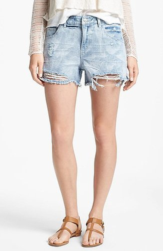 Free People Denim Cutoff Shorts (Summer Sky) Summer Sky 25