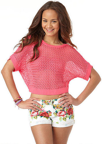 Bow Open Stitch Pullover