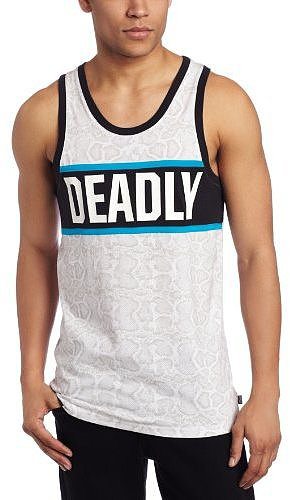 ecko Men's Deadly Snake Tank Top
