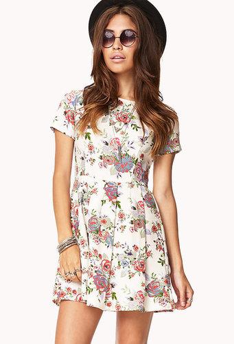 FOREVER 21 Garden Groove Floral Dress