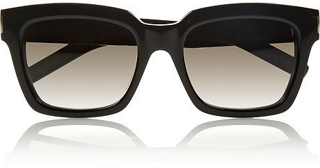Saint Laurent Bold 1 square-frame acetate sunglasses