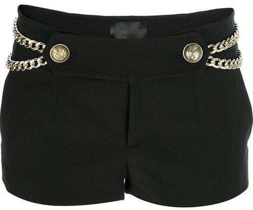 Philipp Plein chain detailed shorts