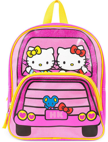 Hello Kitty Kids Backpack, Girls or Little Girls Just Being Kitty Backpack