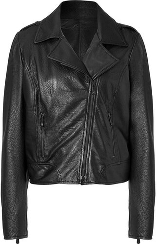 Faith Connexion Black Leather Jacket