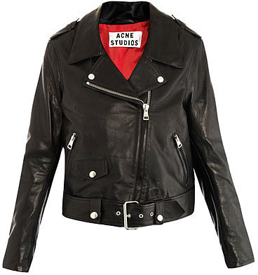 Acne Mape leather jacket