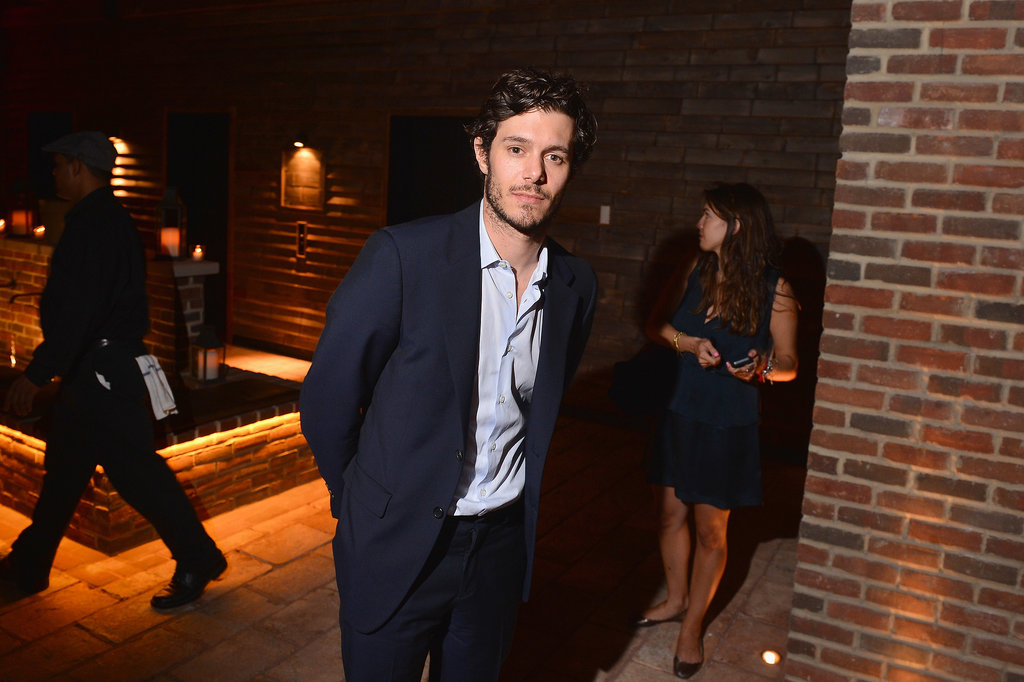 Adam Brody hit the afterparty of his Lovelace screening in NYC.