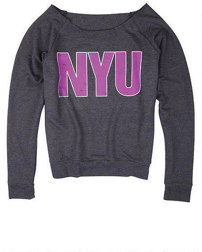 NYU Flashdance Pullover