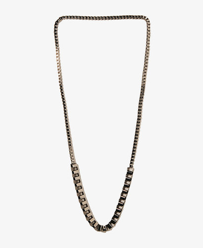 FOREVER 21 Metal Box Chain Necklace