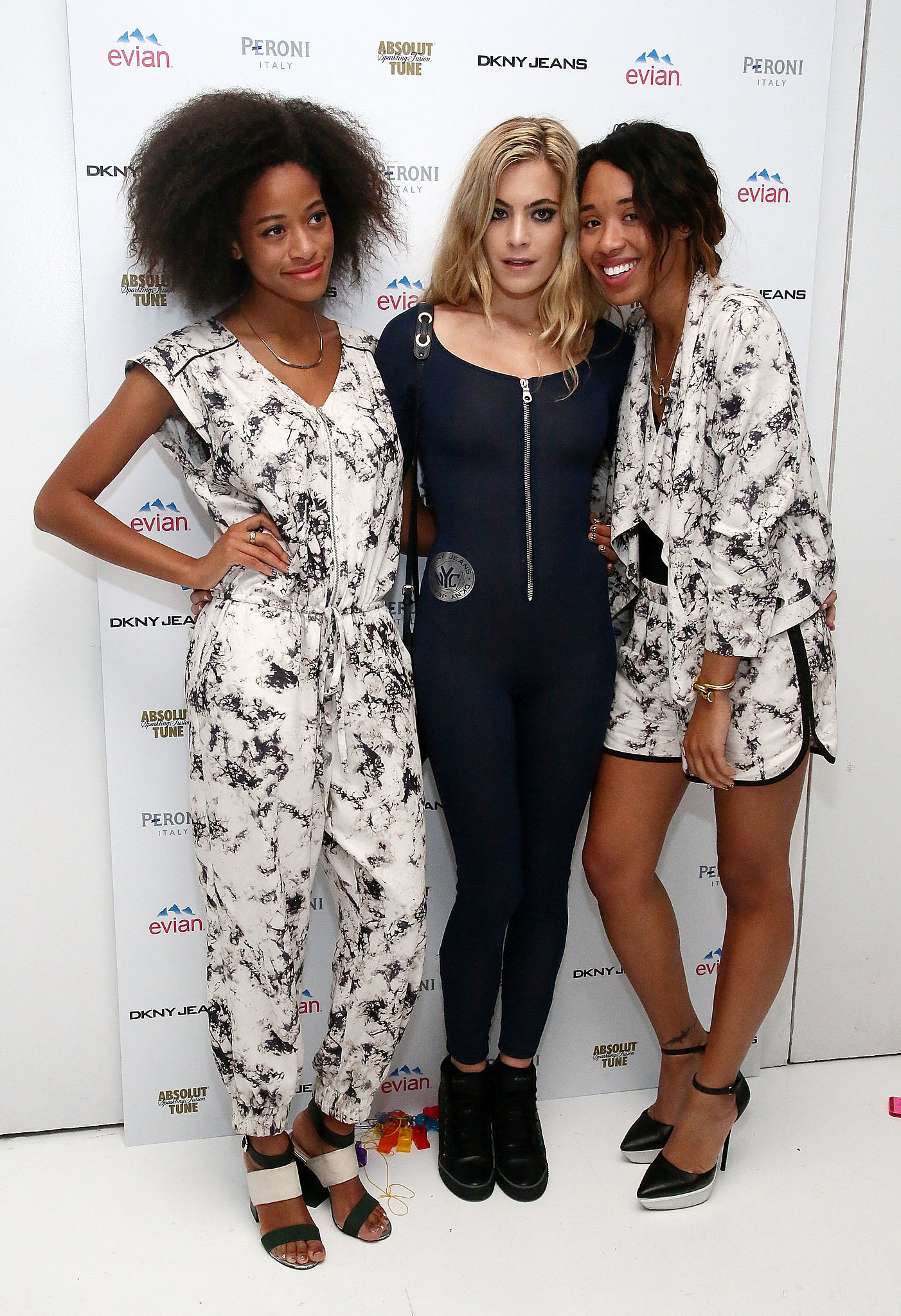 DKNY Jeans celebrated Chelsea Leyland's birthday where friends including Kilo Kish and Kitty Kash were on hand to celebrate.
