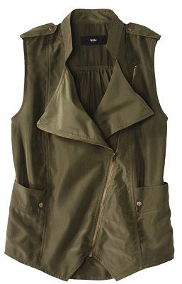 Mossimo® Women's Cap Sleeve Vest -Olive