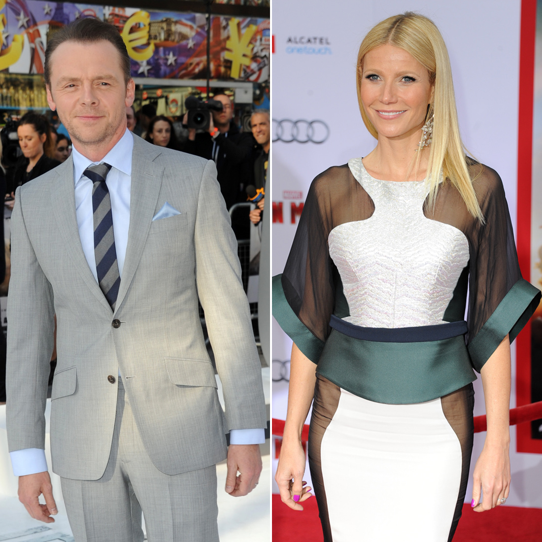 British actor Simon Pegg is the godfather to Gwyneth Paltrow and Chris Martin's 9-year old daughter, Apple. Gwyneth's got a famous godfather of her own, and his name is . . .
