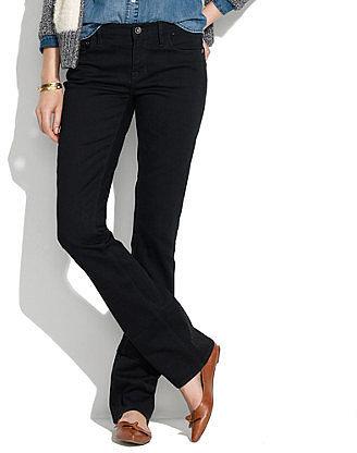 Bootlegger jeans in black frost