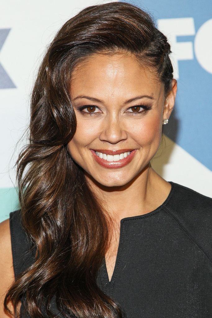 Vanessa Lachey opted for a faux-undercut style at the Fox TCA party.