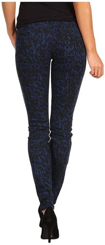 Joe's Jeans - The Skinny in Painter Leopard (Blue/Green) - Apparel