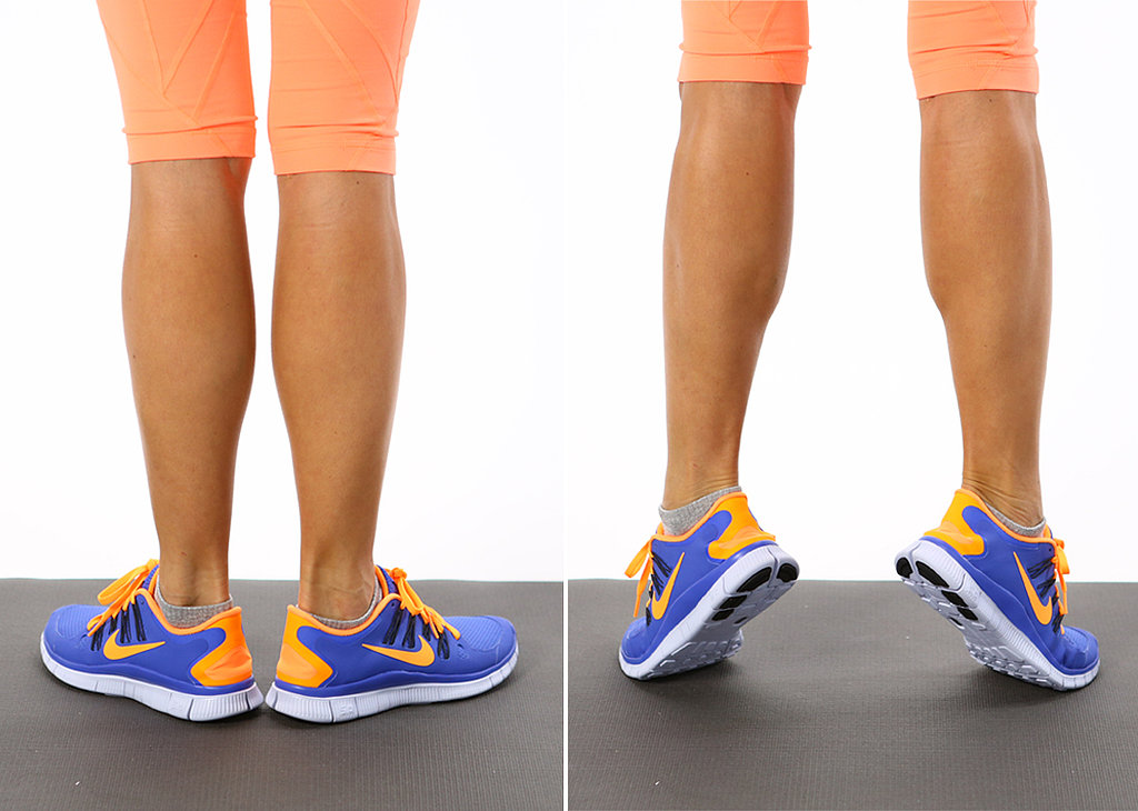 Calf Raises — External Rotation