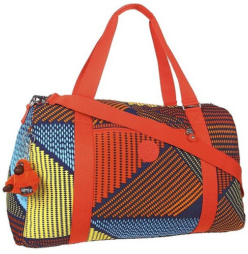 Kipling - IF - Itska Duffle Bag (Ethnic Print) - Bags and Luggage