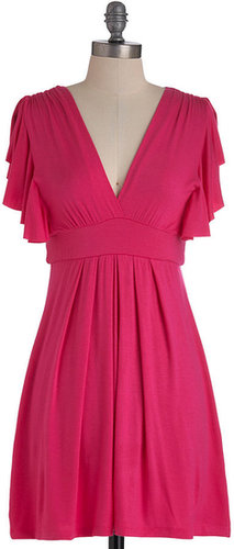 Plum Role Dress in Fuchsia