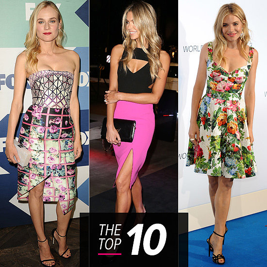Top 10 Best Dressed Of The Week: Florals Reign Supreme & Jennifer Lights Up The Night