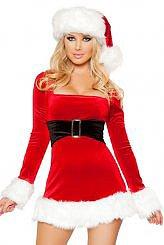 2PC Mrs Santa Claus Dress Costume $22.10